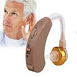 Aparelho auditivo amplificador de som para perda auditiva f138