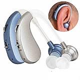 Novo aparelho auditivo digital recarregável para perda severa bte de alta potência