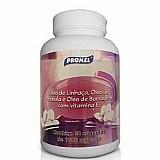 Óleo de linhaca com primula,   borragem e vitamina e 60 capsulas 1000mg