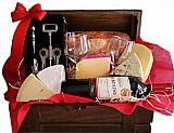 Cesta de queijo e vinho entrega em santo amaro