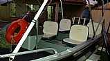 Lancha levefort malibu 16 pes motor 60 hp 4 t yamaha