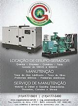 Locacao de grupo diesel gerador de 50 a 500kva