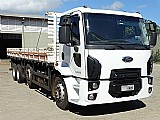 Ford cargo 2429 bi-truck carroceria ano 2013 top!