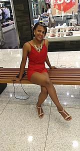 Macacao curto vermelho