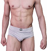 Cueca slip classic dionisio collection cinza