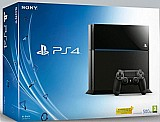 Playstation 4 500gb blu ray hdmi ps4 sony bivolt sem controle