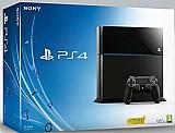 Playstation 4 500gb blu ray hdmi ps4 sony bivolt sem controle