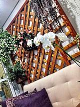 Trelica de madeira / painel / floreira