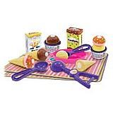 Brinquedo infantil sorveteria bigstar crec-crec