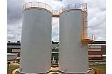 Reservatorio cilindrico e caixa dagua modelo taca metalica