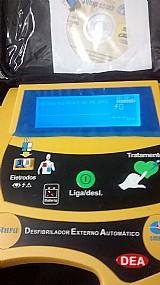 Desfibrilador automatico dea novo na cx sem uso
