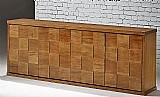 Linda arca buffet em madeira - nova