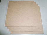 Placas de mdf cru de 6mm 5 pcs - 100x50