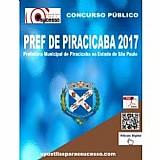 Apostila prefeitura de piracicaba sp 2017 psicologo
