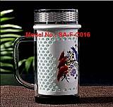 Porcelain crystal cup