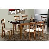Sala de jantar 1, 25 x 85 (  60cm ) - 06 cadeiras