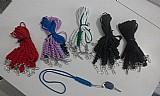 Chaveiro cordao no trancado pescoco,  usar em motos,  e uso diversos,  com varias cores.
