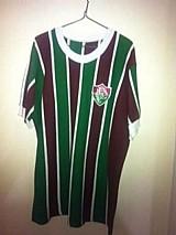 Camisa do fluminense tricolor anos 70 tricolor tamanho g numero 10 bordado masculina original