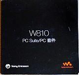 W810 – pc suite / pc para notebook,   cd instalacao original