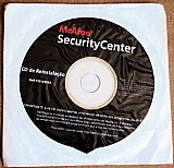 Mcafee security center ,  cd reinstalacao original lacrado