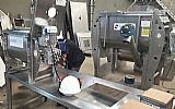 Misturador de pos,  massas e granulados