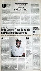 Emilio santiago,  aquarela brasileira,  a voz se cala,  o globo 21-03-2013