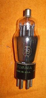Valvula eletrônica antiga tipo 79.- 180 -