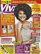 Sheron menezes,  os segredos de beleza da atriz,  revista viva mais nº 651 e recorte (cortesia)