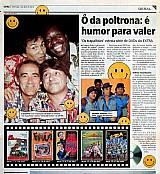 Mussum,  ô da poltrona,  é humor pra valer,  jornal extra 01-04-2012