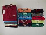 Camisetas deluxe - kit 20 pecas marcas variadas