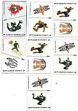 Spider-man 3,  tatuagens em duplicidade por tira,  recortes eletrônicos individuais e instrucoes de aplicacao