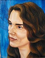 Pintura ã oleo de retratos