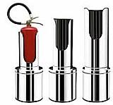 Suportes de extintores em inox luxo gilinox  g4@gilfire