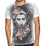 Camisa camisetas de series,  filmes,  floral e skull