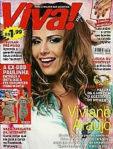 Revelacoes num papo exclusivo,  viviane araujo,  revista viva mais nº 800