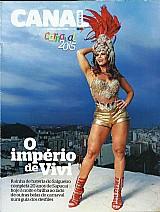 O imperio de vivi araujo,  carnaval 2015,  revista canal extra 17-02-2015