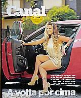 A volta por cima,  viviane araujo festeja a vida,  revista canal extra nº 756
