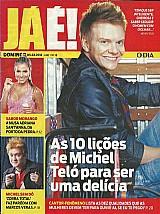 Michel telo,  cantor fenômeno,  as 10 licoes,  revista jáé nº 18