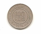 Moeda brasil 100 reis 1934.- 194 -