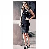 Vestido preto toda mulher deve ter um é sexy,  elegante,  refinado