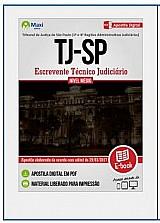 Apostila escrevente tecnico judiciario tj sp 2017
