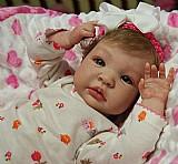 Bebe reborn bonecas realista parece real