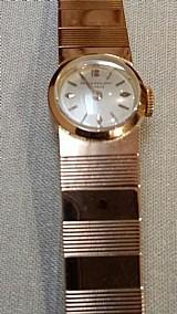 Relogio patek philippe todo em ouro modelo bracelete