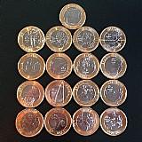 Colecao de moedas das olimpiadas