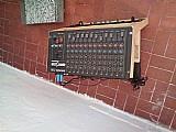 Mesa de som de 12 canais sime nova
