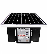 Cerca eletrica rural 120k es-g hp solar