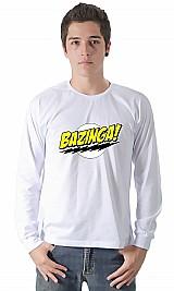 Camiseta bazinga   camisetas personalizadas