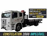 Caminhao constelation munck 13180 volkswagen parcelado - 2009