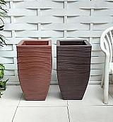 Vasos planta rosa flor arranjo plastico artificial 75x40