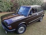 Fiat 147 gls 1981 marron 1.3 com 5 marchas original.